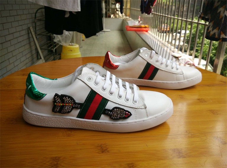 GUCCI Ace Embroidered Low-Top Sneaker Men And Women 35-43 - $48.00 :  hotbrandshoes.com