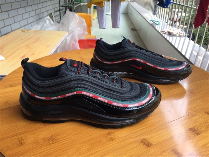 innovative design 6e310 0b5cb Undefeated X Nike Air Max 97 Men And Women 36-46 - $45.00 ...