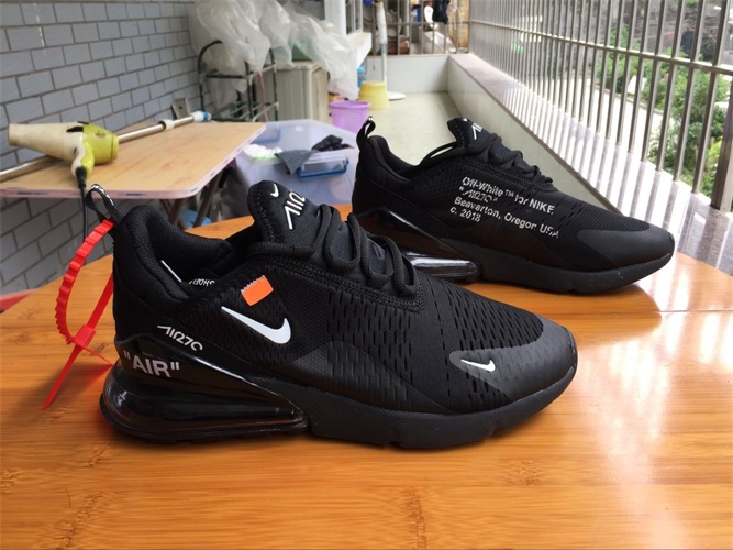 b13f55a0dc9f Nike Air Max 270 Off White Men And Women 36-45 -  44.00   hotbrandshoes.com