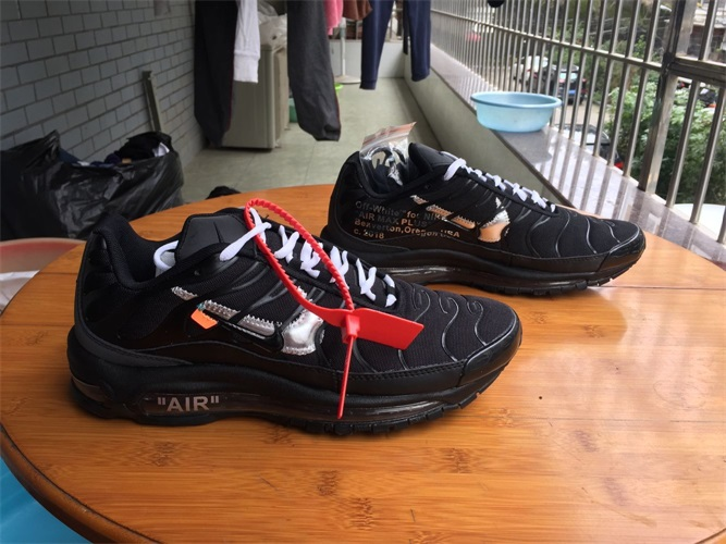 detailed look 6ed74 0d7b2 Nike Air Max Plus 97 TN off white Men And Women 36-46 ...